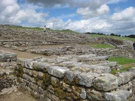 Hadrian's Wall Stock 123 by CoolCurry-Stock