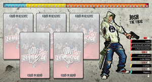 Zombicide Redesigned Character Sheet - Josh by ZAQUARD