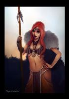 Katarina the Viking Princess by TheSacredMushroom