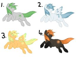 MLP adopts (1 LEFT!) by Cinnamondust18