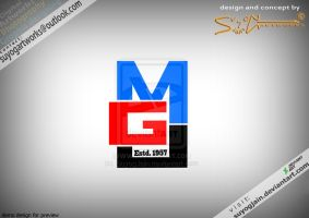Logo for MJG by SuyogJain