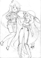 AT/HDA: Marcy and Abby by Abyzz01