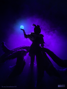 TEASER - Midnight Ahri by dreamhunter707