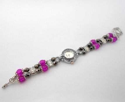 Black Magic Watch by Wirejeweller
