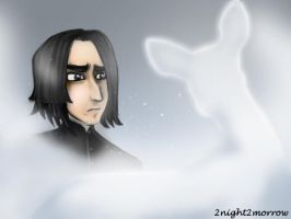 HP SPOILER - Snape's Patronus by 2night2morrow