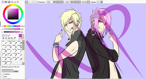 Twins Semes WIP by Ask-TheGrimReaper