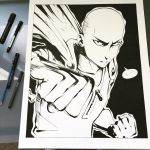 Saitama from One Punch Man by ClarkRankins