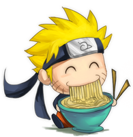 Naruto's Noodles by GlassPanda