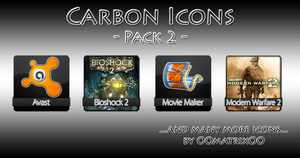 Carbon Icons Pack 2 by OOmatrixOO
