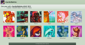 Art meme 2013 by Gamibrii