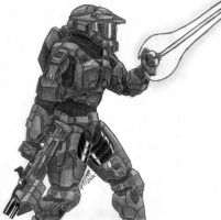 Master Chief 2 by HellboundVengeance