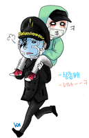 J3T.JD :: Piggyback by Kkun-Ga