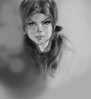 daily sketch  2014 by nosoart