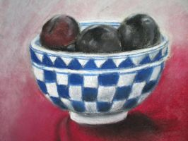 Plums. As in... Plums, y'know by effortlessness