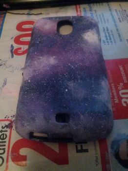 Custom Made Galaxy Phone Case by Skerplez