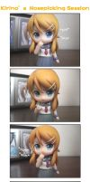 Kirino's Nosepicking Session by ZeroTheUltraDirector
