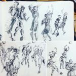 Basketball Sketches 003 by MemorySoul