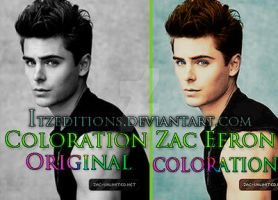 Colorations Zac efron by Itzeditions