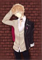 Sakamaki Shuu - DIABOLIK LOVERS by Diamond-Drops