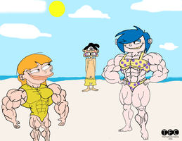 Muscle Beach Party for Edd by TheFranksterChannel