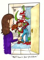 Mario The Plumber by ShadowMaginis
