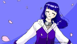 Hinata is happy by dumby-kun