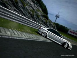 GT4 - Mine's Lancer Evolution Drift 1 by Shroomkin
