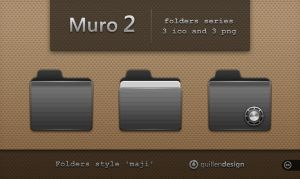 MURO  folders  2 by GuillenDesign