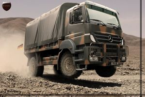 Mercedes Benz Axor by tebidesign