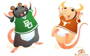 College rats by bassanimation
