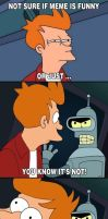 Fry and Bender Comic by TheRealFry1