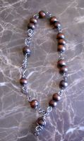Meditate anklet by Monaki