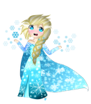 Elsa: Let it go by Nutella-Cookie