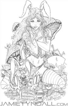 Alice - London Supercon 2014 Exclusive - Table A53 by jamietyndall