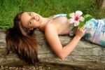 Laura - hibiscus reclining 1 by wildplaces