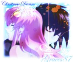 Kira and Lacus Christmas Dream by Graces87