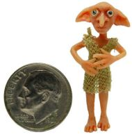DOBBY THE HOUSE ELF by WEE-OOAK-MINIATURES