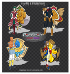 .:Mistuar Gym Leaders Set B:. by PEQUEDARK-VELVET
