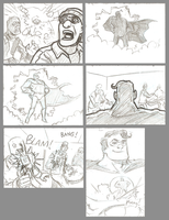 Heroic Man storyboards 2 by mistermuck