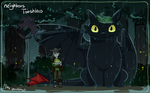 Neighbors Toothless by Ganym0
