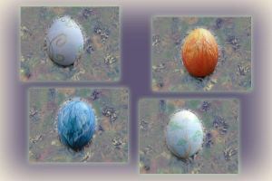 Easter Eggs 2009 by SharmClucas