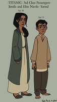 Jamila and Elias by TitanicGal1912