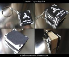 Zexion's Lexicon Keychain by MelodiousRoseDuelist