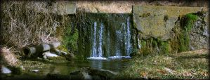 Mini Waterfall... OF DOOM by OnlyAppearStupid