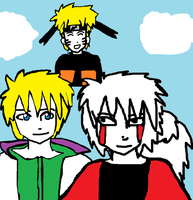 Naruto reunion fanfic chapter 1 drawing by Fran48