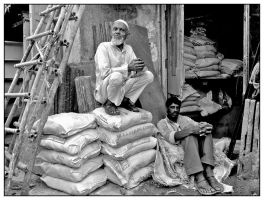 Portraits from Old Delhi 3 by Indiangal