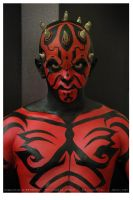 Darth Maul bodypainting by Juniardi