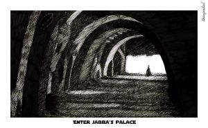 Enter Jabba's Palace by thingrodiel