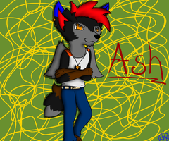 He is Ash by SaraTheDog848