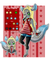 Chinchilla Adoptable Auction CLOSED by Gokai-Chibi